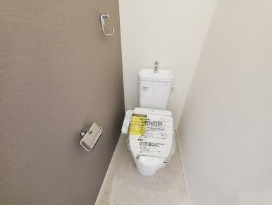 1号棟:トイレ 家計にも環境にも優しい、節水型ウォシュレット付トイレ!