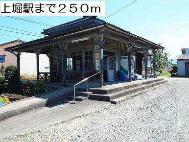 上堀駅まで250m