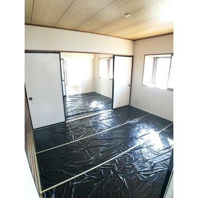 「和室」6畳2間の続き間です