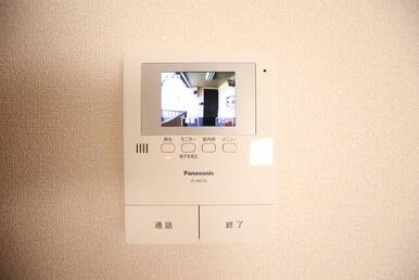 TVモニターホン設置済みです。