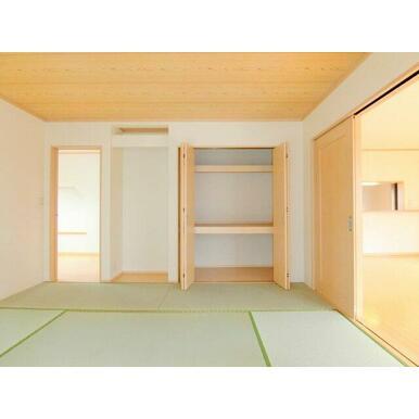 1階8帖和室収納