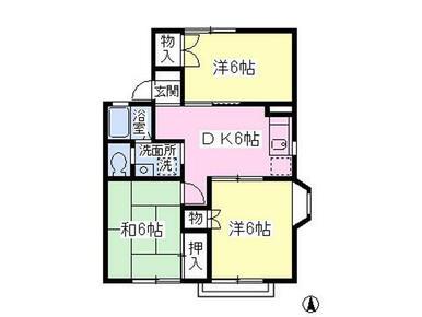 追焚き・TVモニターホン・エアコン完備★ルームシェアも相談可の3DKタイプ!
