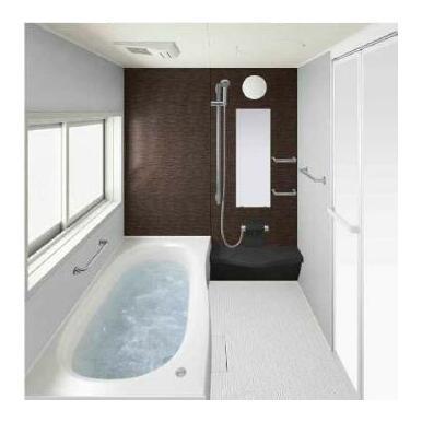【同仕様浴室】W水流シャワーで節水を実現