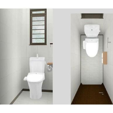 【同仕様トイレ】