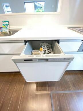 食器洗浄乾燥機付きで日々の家事も楽になりそう♪