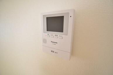 《設備》モニター付きインターフォンでセキュリティー面も配慮