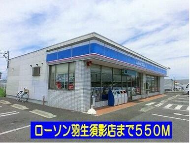 ローソン羽生須影店