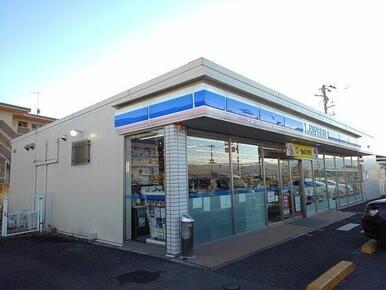 ローソン 粟倉店まで750m