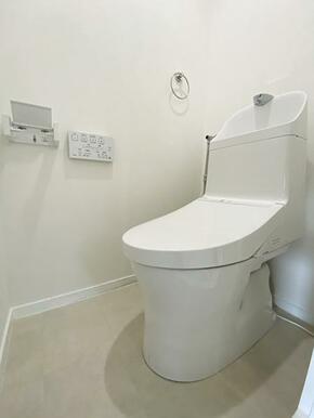 トイレは新品交換済みです。