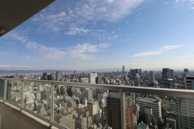 【眺望】「40階」ならでは!!あべのハルカスのその奥まで見渡せるほど・・・。大阪市内のパノラマviewを☆