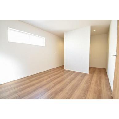 フリースペースが2か所ある洋室