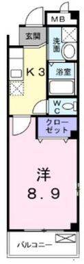 ★広々8.9帖あります★