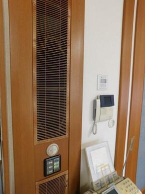 家中の空気の流れをコントロールします。