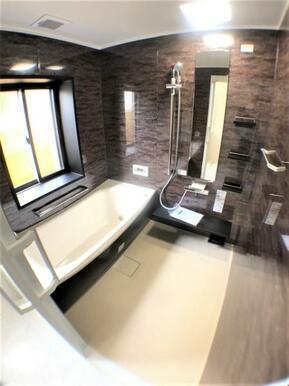 【浴室】バスタイムを楽しめるゆったり空間!