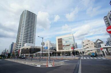 「東中野」駅の様子♪JR線と都営大江戸線が利用できます♪