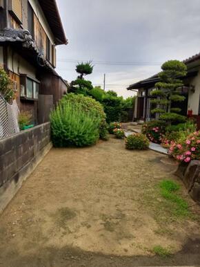 広々としたお庭です。