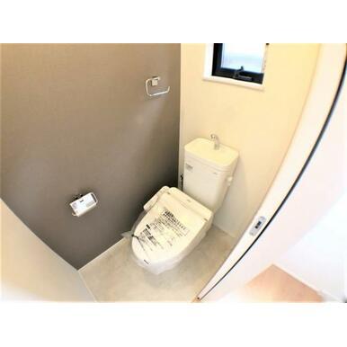 【トイレ】家計にも環境にも優しい節水型ウォシュレット付トイレ!