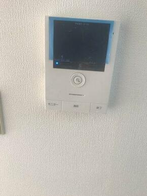 TVモニター付きインターフォン新規設置