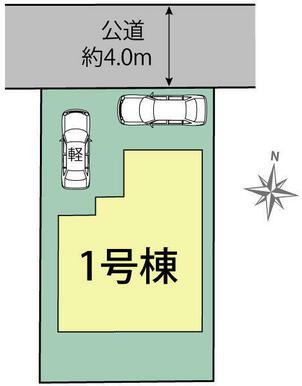 日進市藤塚1棟 区画図