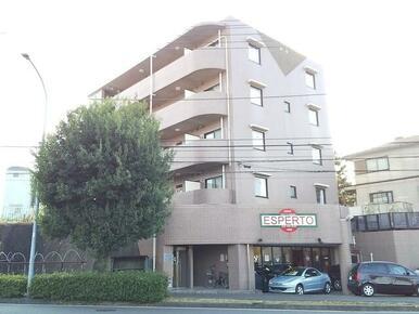 見晴らしの良い高台に立地・鉄筋コンクリート造の5階建てマンション!