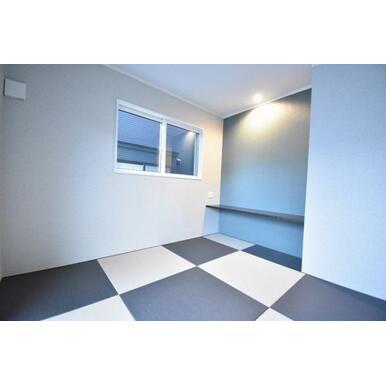 琉球風畳を採用したおしゃれな和室