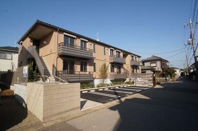 積水ハウス施工の2階建賃貸住宅ShaMaisonです