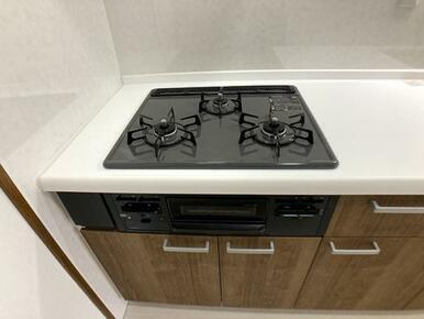 「キッチン」ガスコンロ新品交換済みです。