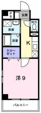 ★洋室広々9帖★