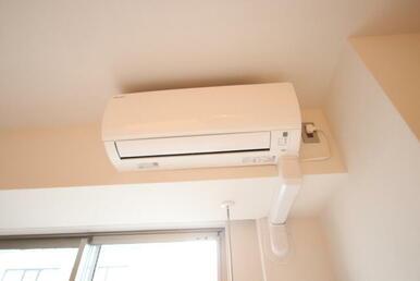 エアコン設備です。