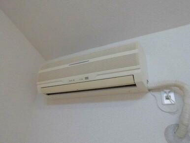 ※リビングエアコンは残置物・設備では御座いません。通年快適にお過ごし頂けるエアコン完備★