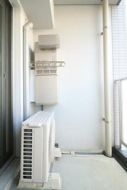 物干金物が低い位置にあるのでお洗濯物のプライバシーも安心です