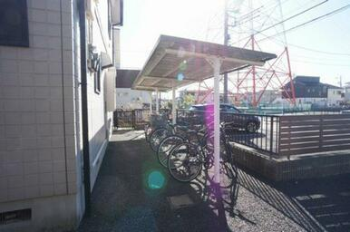 ■屋根付き専用駐輪場■
