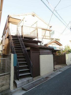昭和レトロアパート。江古田湯が近い。