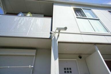 ☆C棟に防犯カメラあります♪