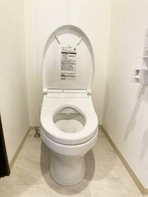 トイレは新品交換済