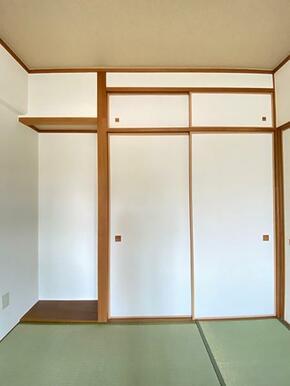 和室の収納です。