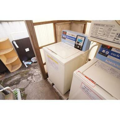 敷地内コインランドリーあり(洗濯機・乾燥機)