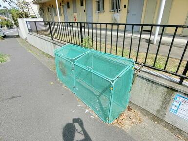 ゴミ捨て場です