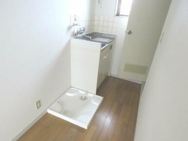 室内洗濯機置場もあり