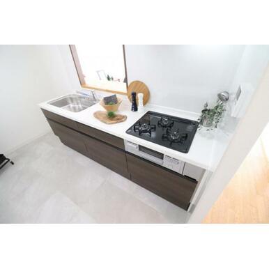 (キッチン)新品設備でお料理も楽しくなりそうですね^^