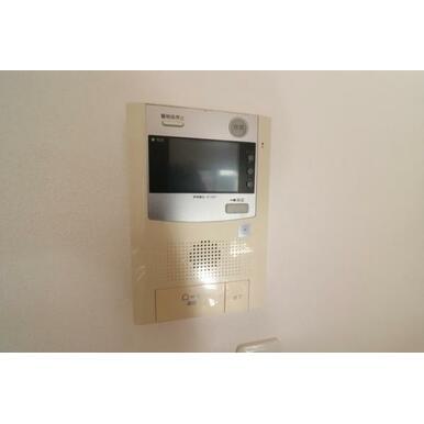 (設備)TVモニター付きインターホンで来客対応も安心
