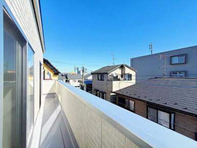 バルコニー 当社、グループ施工!永大のデザイン住宅です!