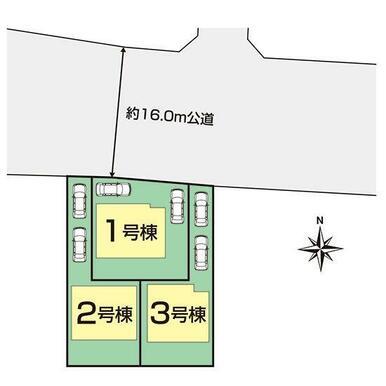 名古屋市守山区上志段味3期区画図