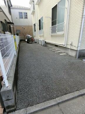 駐輪スペースあり