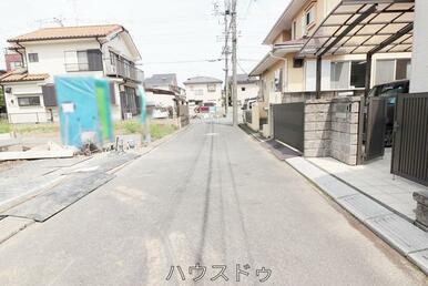 前面道路です。病院・約170m(徒歩3分)体調が良くない時などは近隣に病院があると◎(^_^)/