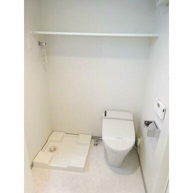 室内洗濯機置場です!!