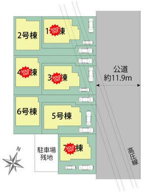 藤沢市石川4丁目 区画図