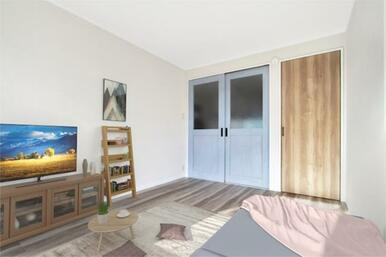 ※この画像は実際の室内にCGによる家具等を配置したものです。家具等は賃貸借に含まれません。