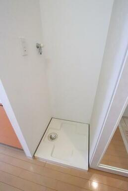 室内洗濯機置き場です♩