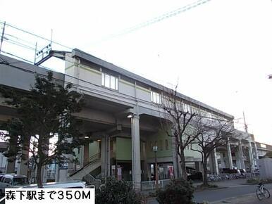 森下駅(名鉄瀬戸線)
